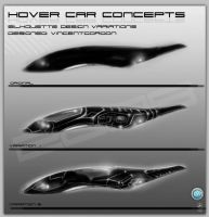Hover Car: variations4 by VincentGordon
