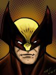 80s style Wolverine. by stourangeau