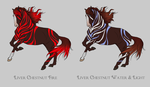Liver Chestnut Icogan Designs (random) by SweetLittleVampire