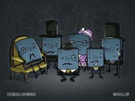 Noble Gases by WirdouDesigns