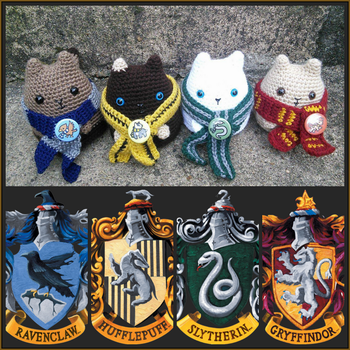 Hogwarts Kitties by VelvetKey