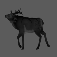 Elk Design Request by Allixi