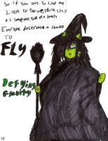 Elphaba by blk-mage-kitty