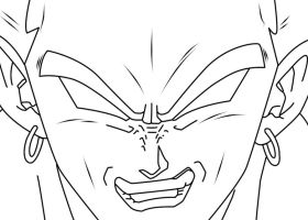 broly lineart by zignoth