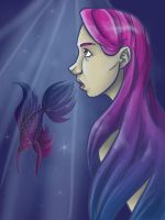 In the Skin of a Betta by manic-pixie