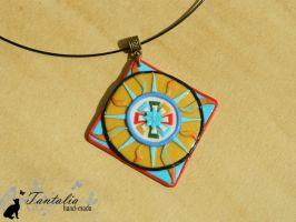 Pendant The emblem of Feanor by Tantalia