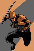 Deathstroke Redesign 2 by Gaston25
