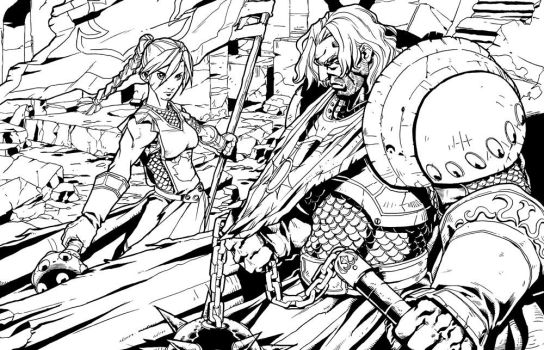 WoW RPG - Scarlet and Argent by UdonCrew