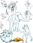 Sketch Dump by BrittHyatt