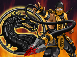 MK : Scorpion by nads6969