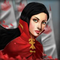 Fire Nation Lady by Serzart