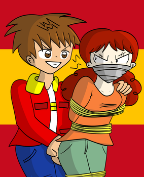 Me gusta Espana! (Color version) by Gregory-OTM