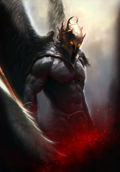 Hawkman - Divine Protector by Bohy
