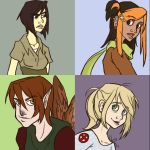 Character Squares by ph00