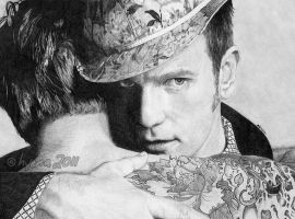 Ewan McGregor by electrichyena