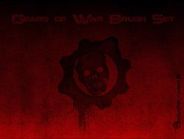 Gears of War Photoshop Brushes by ChanelVanity
