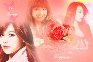 Princess in Disguise (Sooyoung wallpaper) by Xinahs