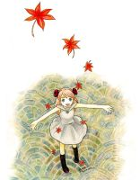First Leaves of Fall by Elielie