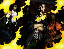 The Walking Dead 66 w color by alexhdunn
