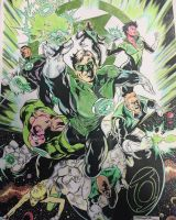 GL Corps Cinar Ink TDorn Colors Jeremy Scully by Drakelb