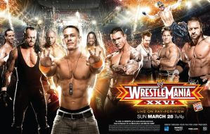 Wrestlemania 26 wallpaper HD by DecadeofSmackdownV2