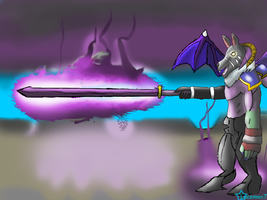 Chaos Chimera, the powerful monster from G.S.D.D. by JackFrost-LCDA