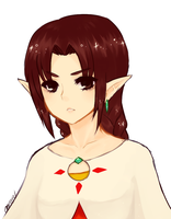 Skyward Sword -- Orielle by onisuu