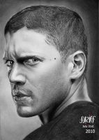 Wentworth Miller by riefra