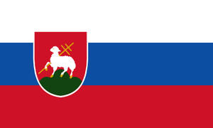 Alternate flag of Slovakia by SoaringAven