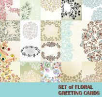Vector-Flowers-Pattern-background by vectorbackgrounds