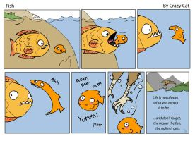 Fish Comic by xCarnationFox