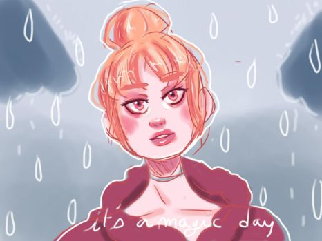 rain and beauty by Chriss-art