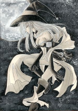 witch W by sollamy - Cad�Lara AvatarLar :)