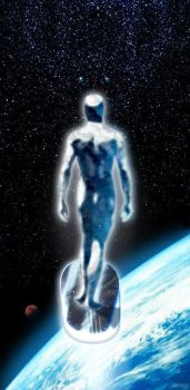 The Silver Surfer: Omen by lakecreature