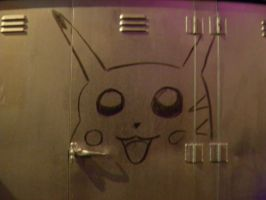 Pikachu Graffiti by DarkHero31