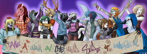 Furry Banner by MeadowofAshTrees