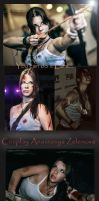 Cosplay Tomb Raider 2013 by Anastasya01