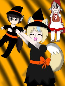 I dub you as my witch apprentice! (contest) by Candygirl4226