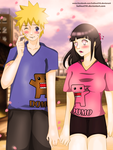 NaruHina Dating by hallow1791