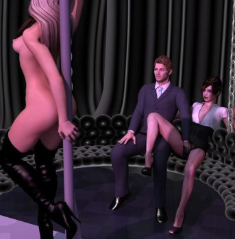 At the club 3 by phues1