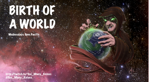 Birth of a World - Title Slide by chillier17