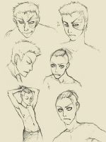 Zuko and Sokka sketches by doven