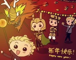 happy year of the dragon! by trazar