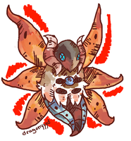 Dopter the Volcarona by Dragonyyyd
