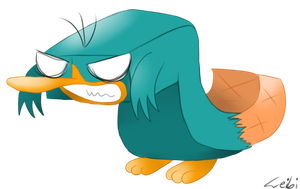 weird angry Perry thing by Leibi97