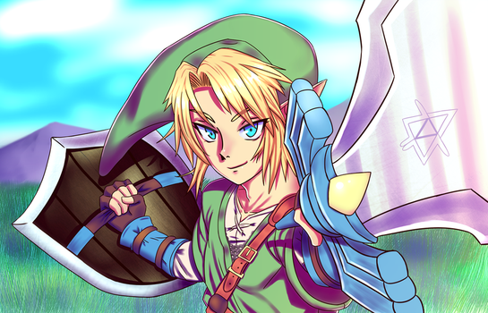 Link the Hero by Keiboxy2