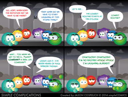 SC870 - A Real Comedian by simpleCOMICS