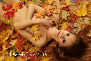 Rolling in the Leaves by digitalcirce