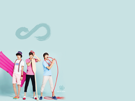 Infinite Wallpaper [ In the summer ]  2 by Heosukx