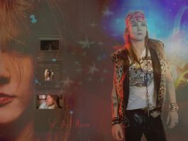 Axl Rose Wall. - 3- by Calciu19